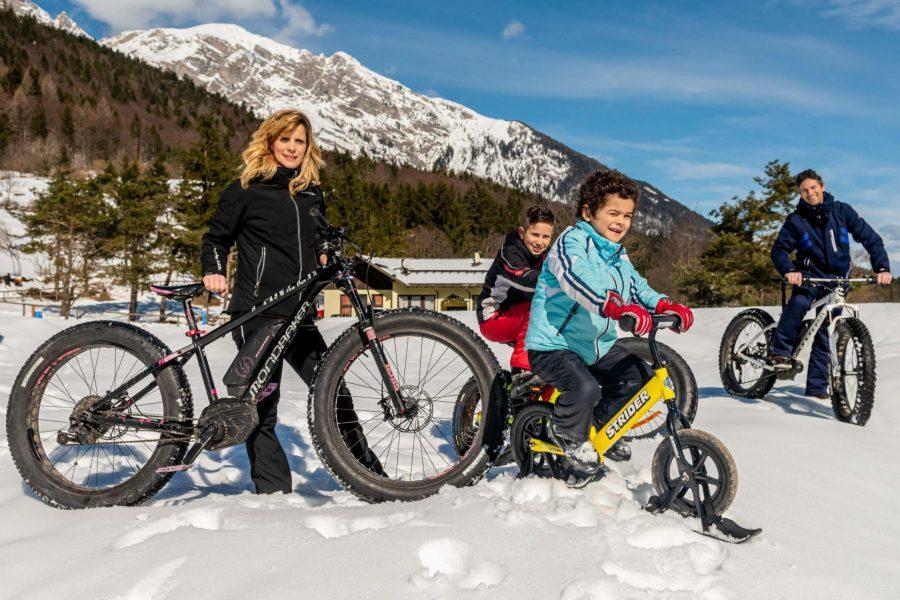 fat bike andalo inverno